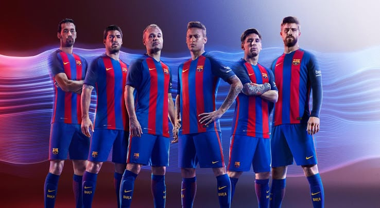 Maillot FC Barcelone 2016-2017