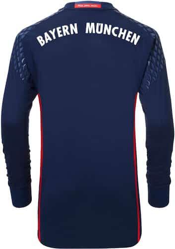 maillot-domicile-gardien-bayern-munich-2016-2017-dos