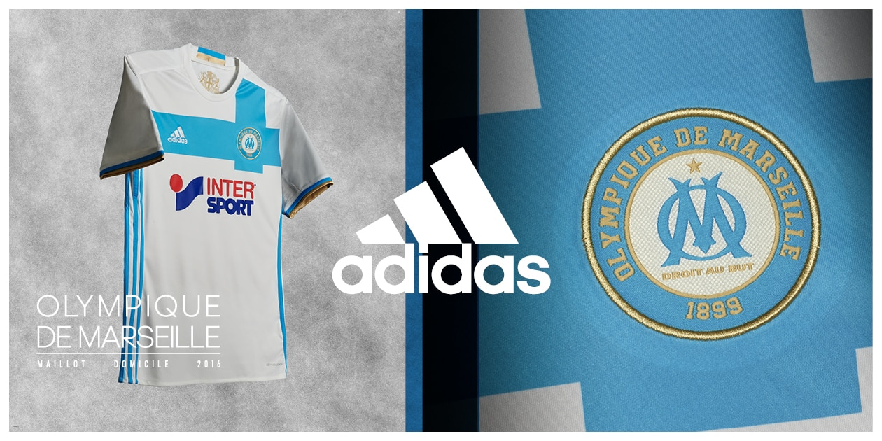 tenue de foot Olympique de Marseille Tenue de match