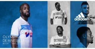 Image de l'article L'Olympique de Marseille et adidas dévoilent les maillots 2016-2017