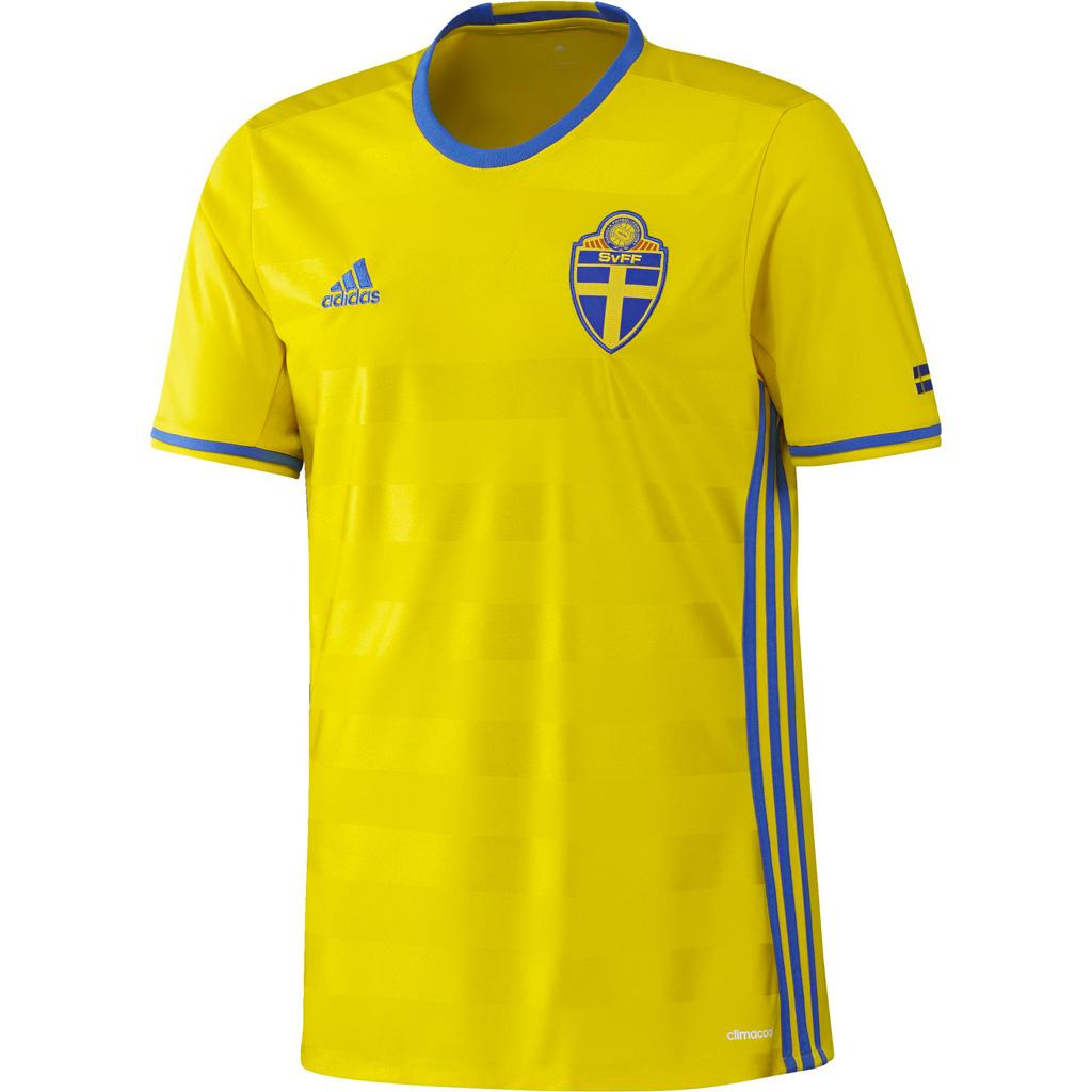 Maillot Domicile Suède Euro 2016