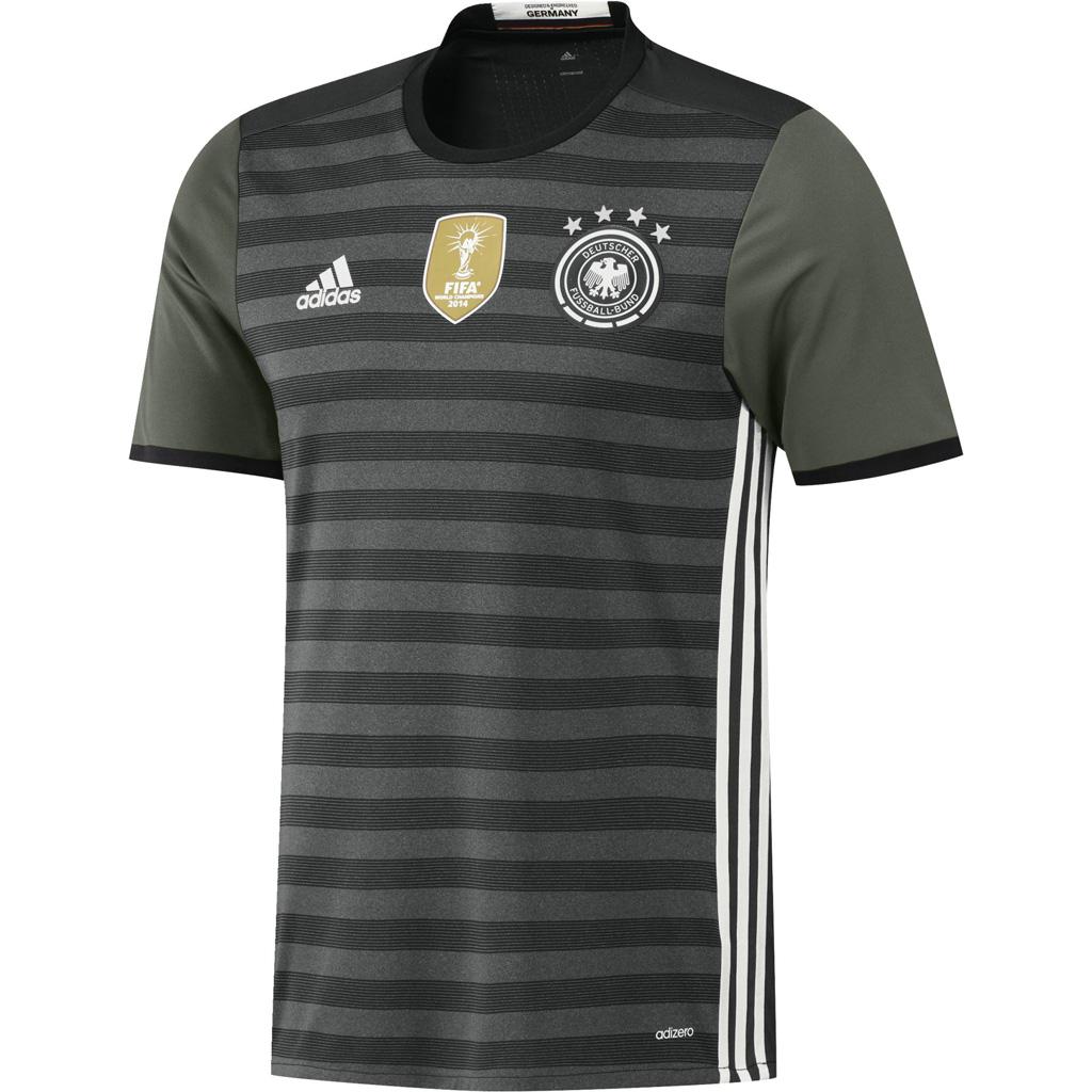 Maillot Extérieur Authentique Allemagne Euro 2016