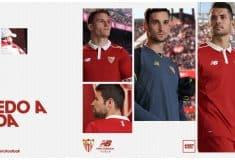 Image de l'article New Balance dévoile les maillots 2016-2017 du FC Séville