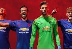 Image de l'article adidas présente le maillot extérieur 2016-2017 de Manchester United