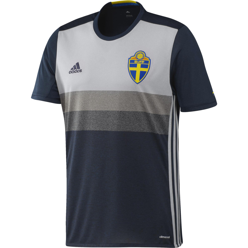 Maillot Extérieur Suède Euro 2016 Enfant