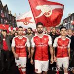 Puma présente le maillot 2016-2017 d'Arsenal