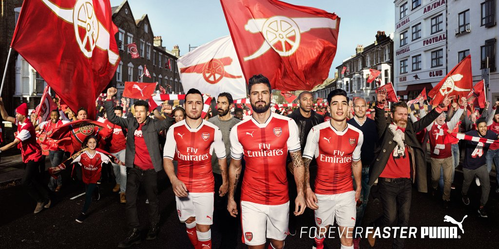 maillot-football-arsenal-puma-2016-2017
