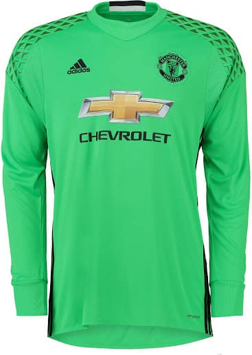 Maillot gardien Manchester United 2016-2017