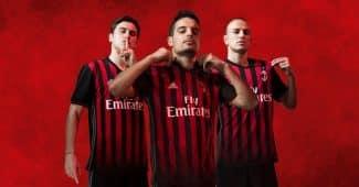 Image de l'article L'AC Milan et adidas dévoilent le maillot domicile 2016-2017