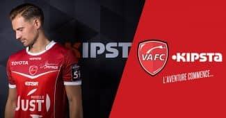 Image de l'article Les nouveaux maillots 2016-2017 de Valenciennes par Kipsta