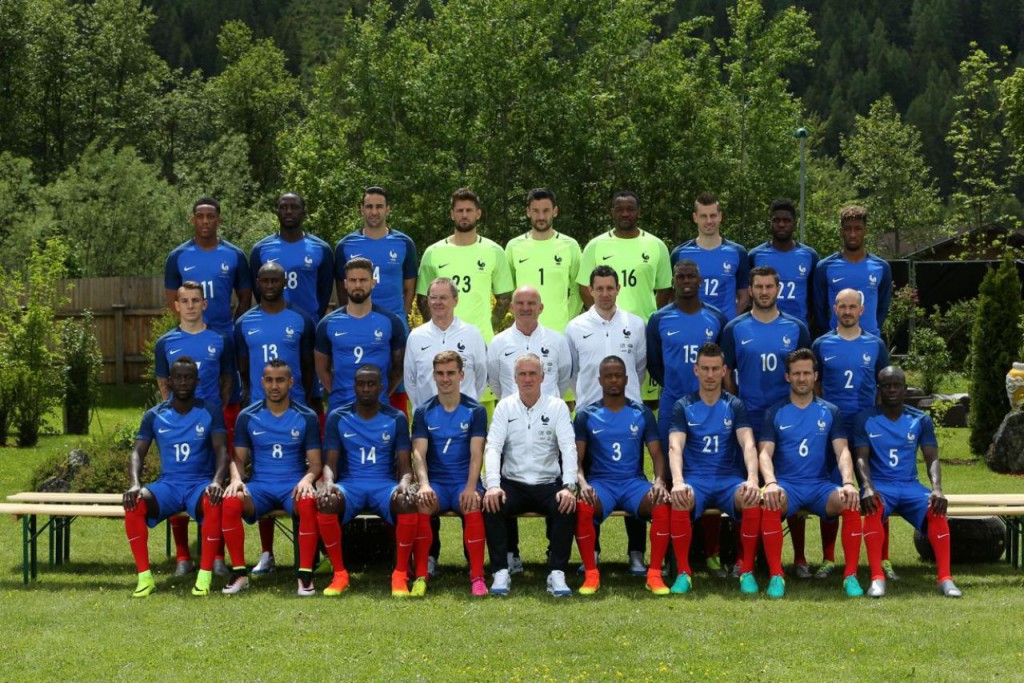 Photo Officielle Equipe de France UEFA Euro 2016