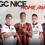 Macron dévoile les maillots 2016-2017 de l'OGC Nice