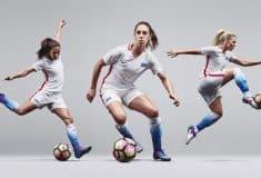 Image de l'article Nike conçoit une tenue unique pour l'équipe féminine des Etats-Unis: le Striking Platinium