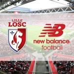 New Balance devient le nouvel équipementier du LOSC