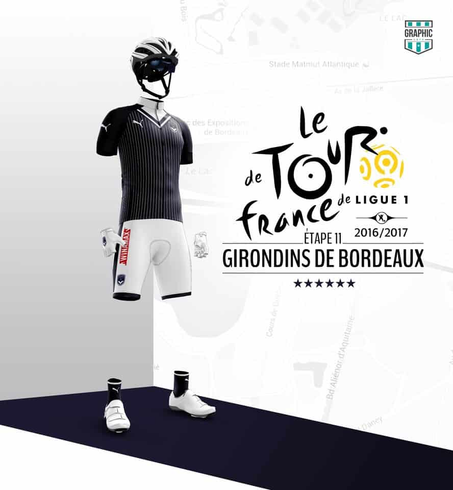Girondins Bordeaux Maillot Cyclisme Graphic UNTD Ligue 1 2016 2016