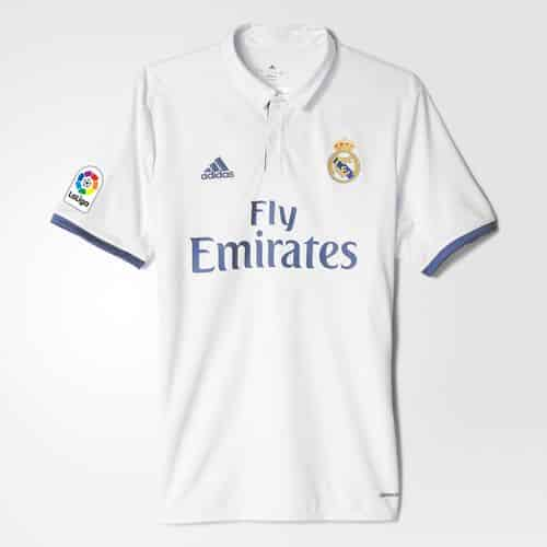 Maillot Real Madrid Domicile Replica 2016 2017 adidas
