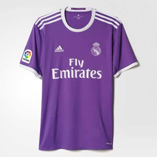 Maillot Real Madrid Extérieur Replica 2016 2017 adidas
