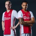 Les maillots 2016-2017 de l'Ajax Amsterdam par adidas