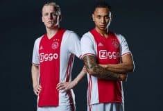 Image de l'article Les maillots 2016-2017 de l'Ajax Amsterdam par adidas