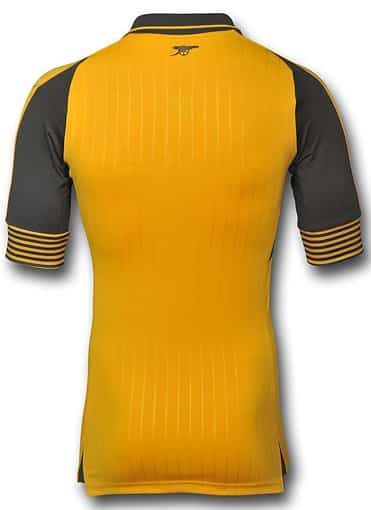 arsenal FC away authentic dos back puma maillot 2016 2017