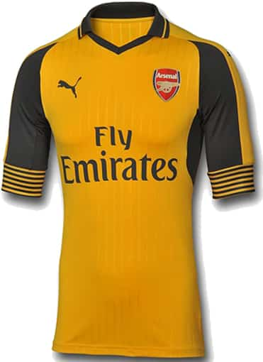 arsenal FC away authentic face puma maillot 2016 2017