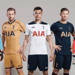 Under Armour présente les maillots 2016-2017 de Tottenham