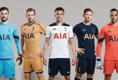 Image de l'article Under Armour présente les maillots 2016-2017 de Tottenham