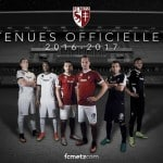 Nike dévoile les maillots 2016-2017 du FC Metz