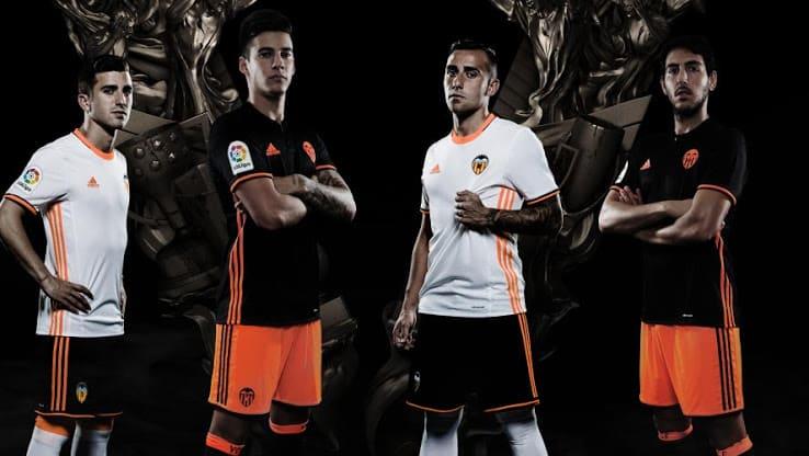 Maillot Extérieur Valencia CF noir