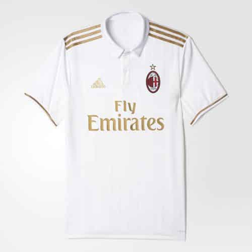 maillot milan ac away exterieur 2016 2017 adidas