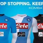 Kappa dévoile les maillots 2016-2017 du Napoli
