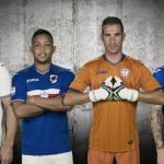 Les maillots 2016-2017 de la Sampdoria par Joma