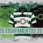 Les maillots 2016-2017 du Sporting Lisbonne par Macron