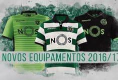 Image de l'article Les maillots 2016-2017 du Sporting Lisbonne par Macron