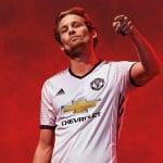 Manchester United et adidas dévoilent les maillots 2016-2017