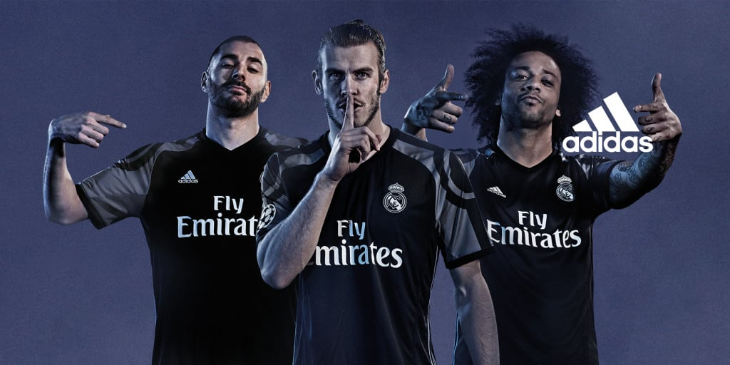Maillot THIRD Real Madrid Bale