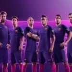 Le FC Barcelone dévoile ses maillots 2016-2017 signés Nike
