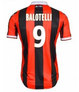 Maillot Balotelli Nice Numéro 9 Macron
