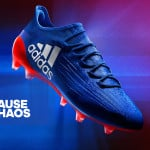 Focus sur le coloris Intersport de la X16 d'adidas