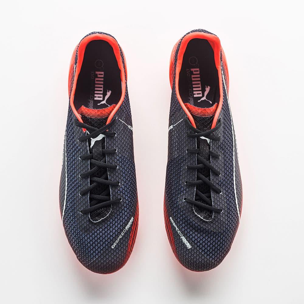 chaussures-football-Puma-evoSPEED-SL-Fresh-Noir-Rouge-2