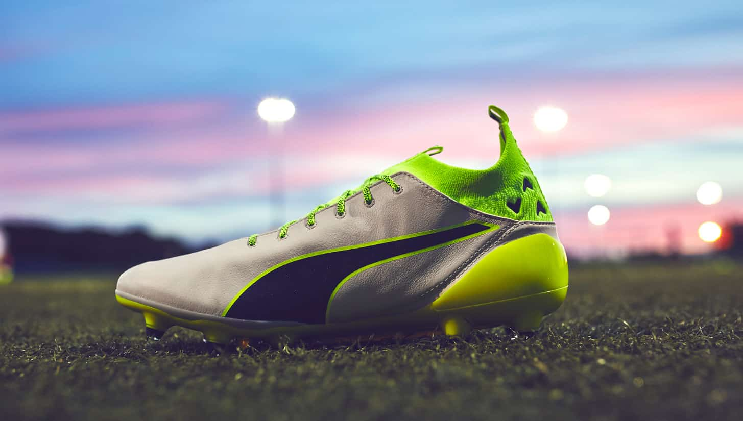 chaussures-football-Puma-evotouch-gris-jaune-img1