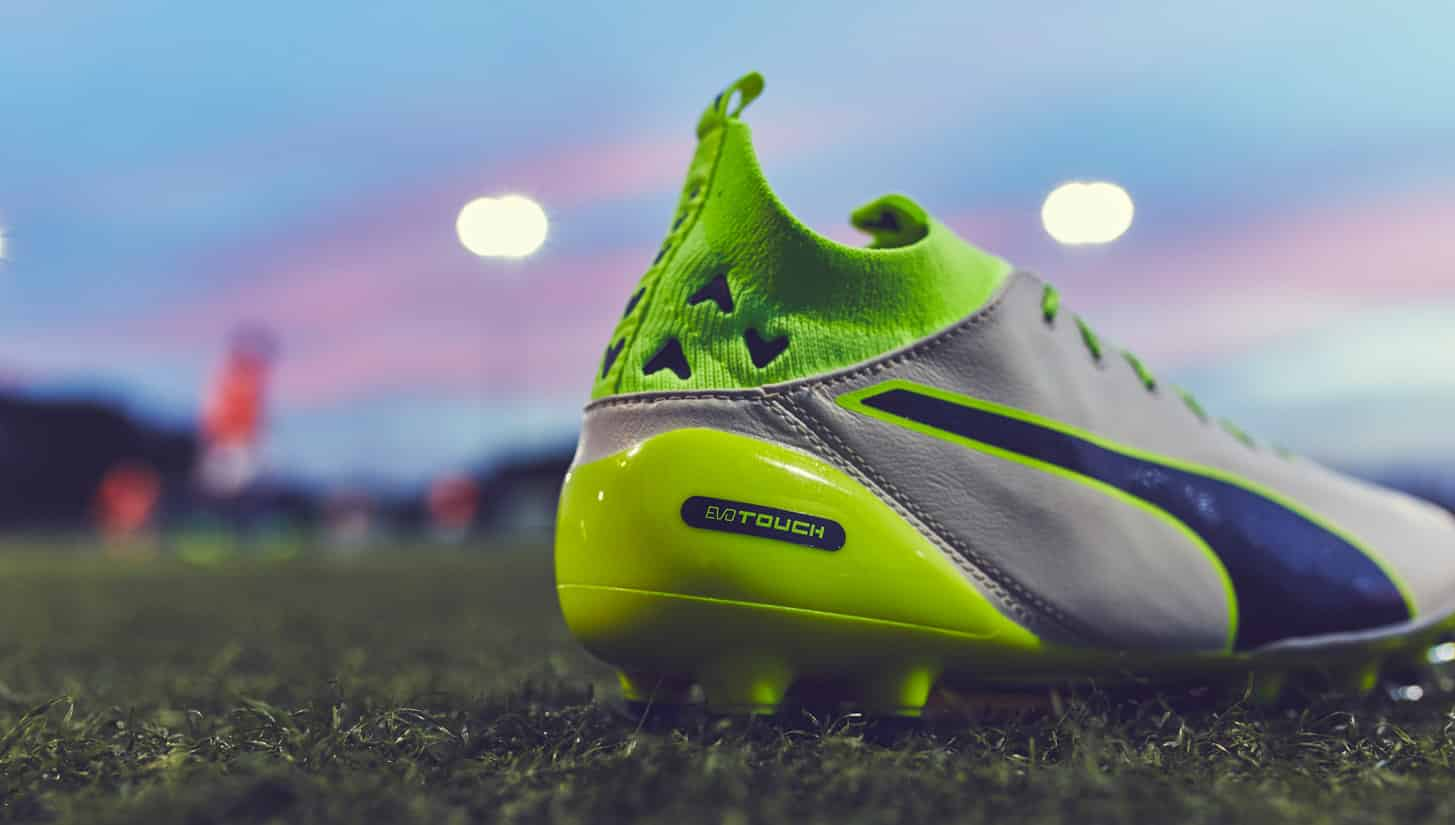 chaussures-football-Puma-evotouch-gris-jaune-img3