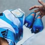 Les chaussures de foot de … Lionel Messi