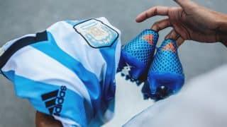 Image de l'article Les chaussures de foot de … Lionel Messi