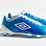 Nouveau coloris «Bluebird» pour l'Umbro Velocita II