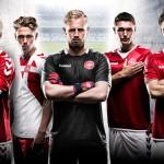 Hummel dévoile les (très beaux) maillots du Danemark