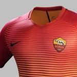 L'AS Rome présente ses maillots 2016-2017 signé Nike