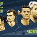 Design For Fans : des créations graphiques autour du football