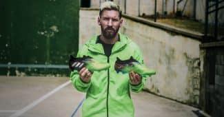 Image de l'article adidas lance une nouvelle édition limitée Messi 10/10