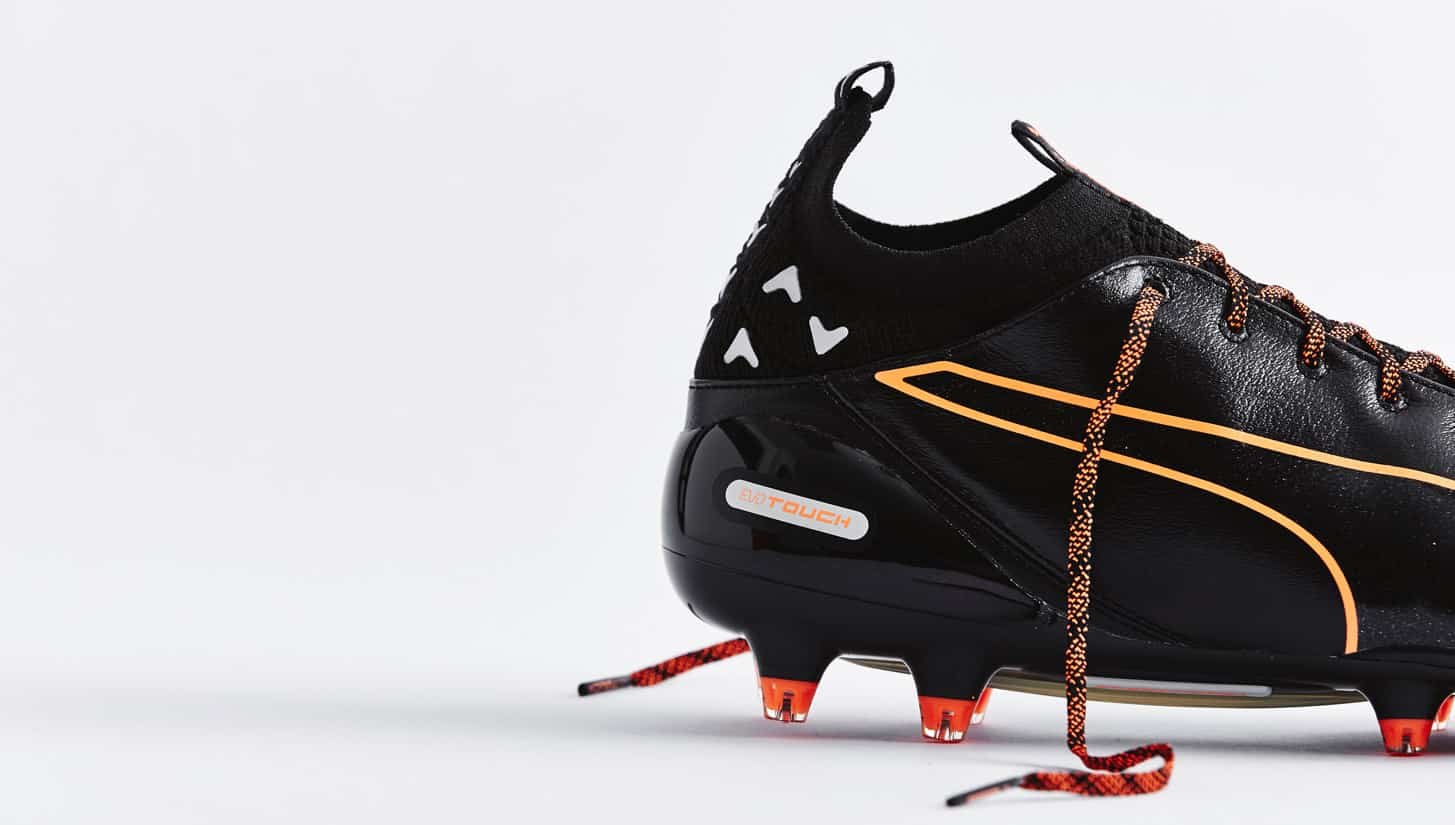 chaussures-football-puma-evotouch-noir-orange-5